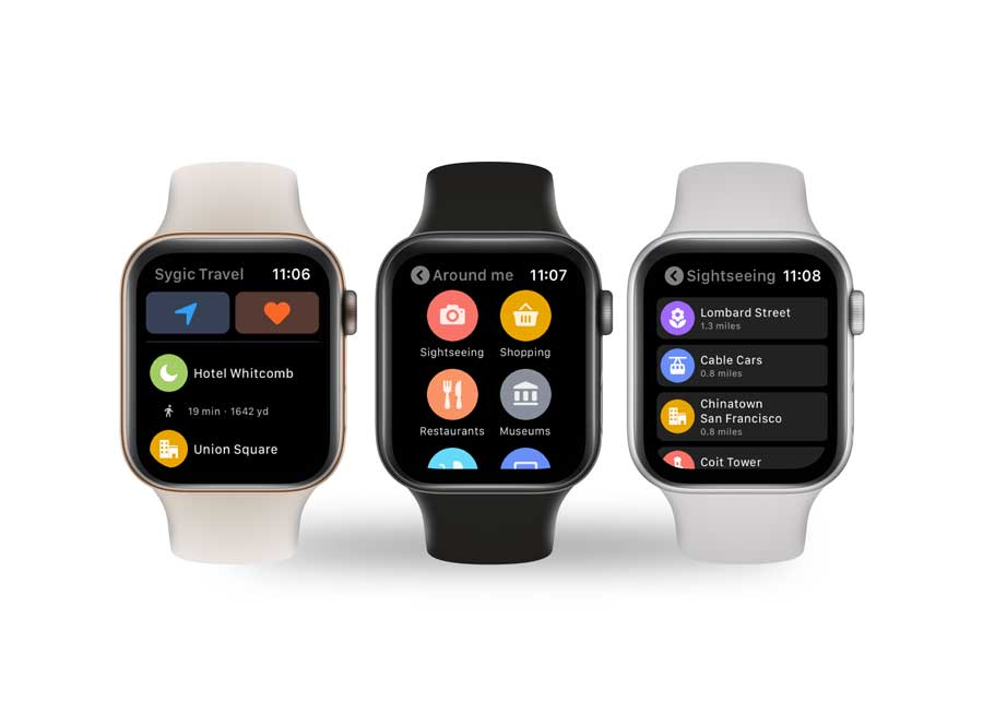 Sygic Releases Apple Watch Support for Advanced Travel GPS