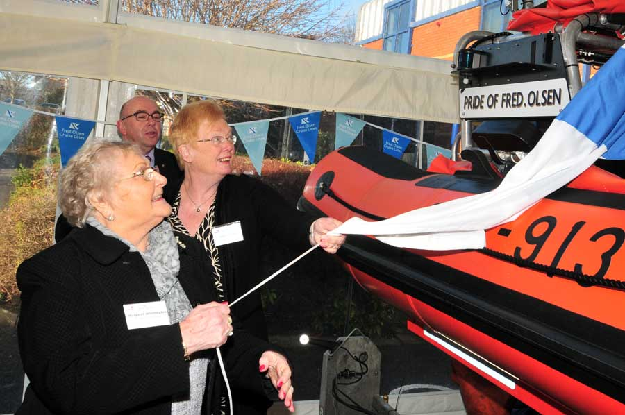 Travel Agent News for Fred Olsen Cruises and New Recovery Lifeboat