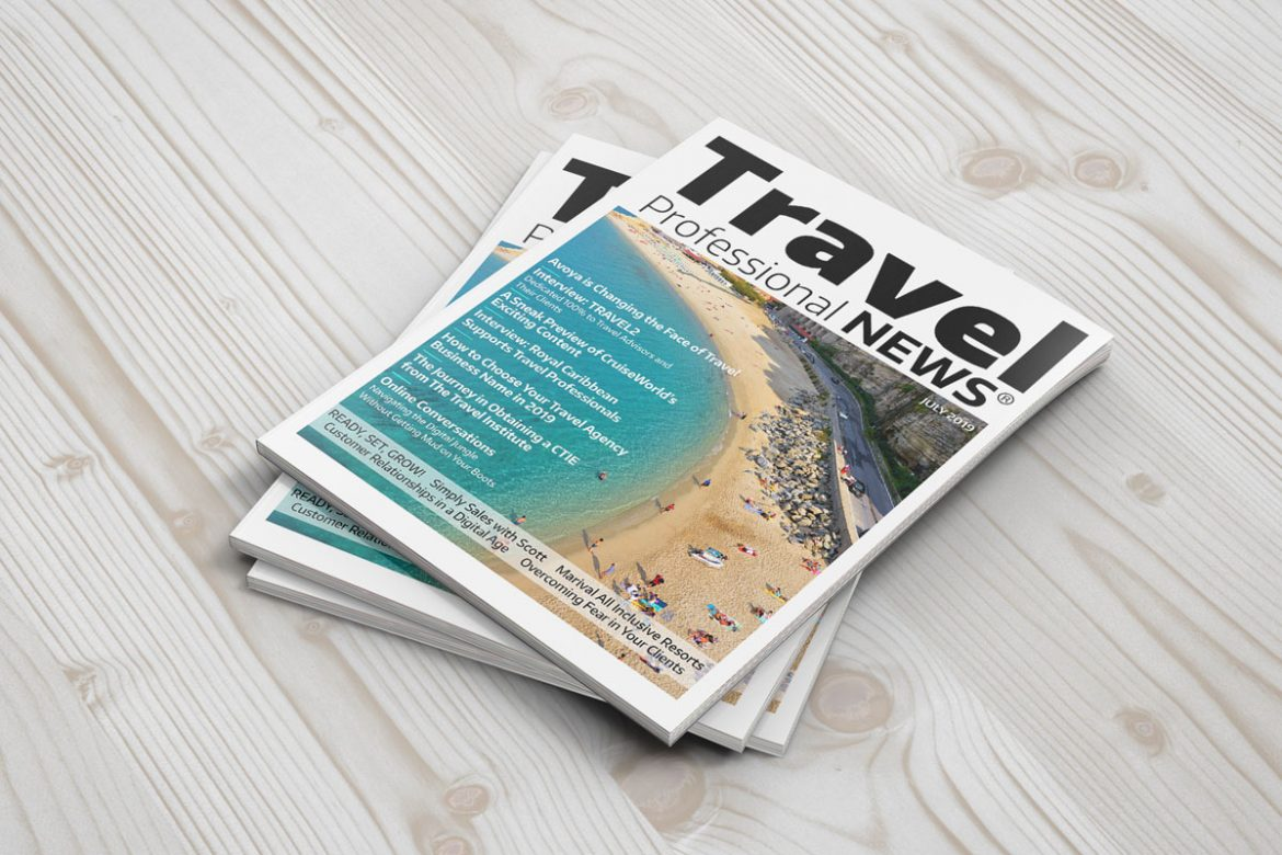 July 2019 News for Travel Agents