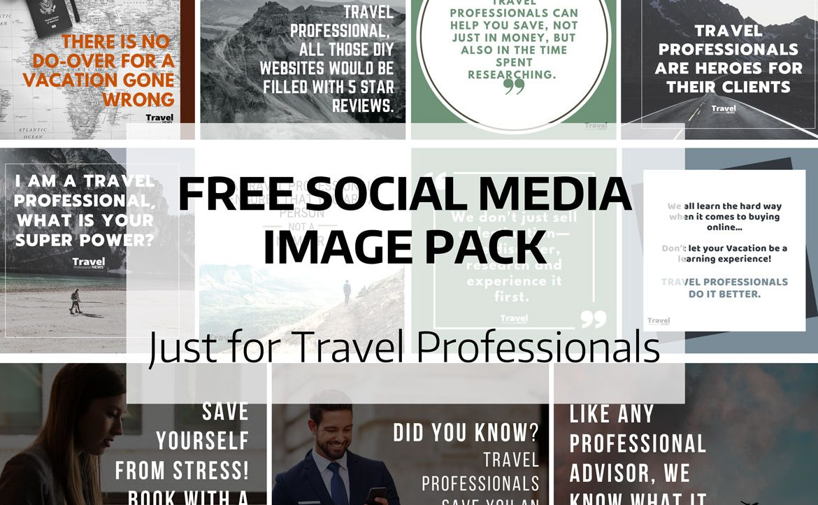 Free Download of Social Media Images for Travel Professionals