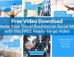 Free Video Download for Travel Agents to use on Social Media
