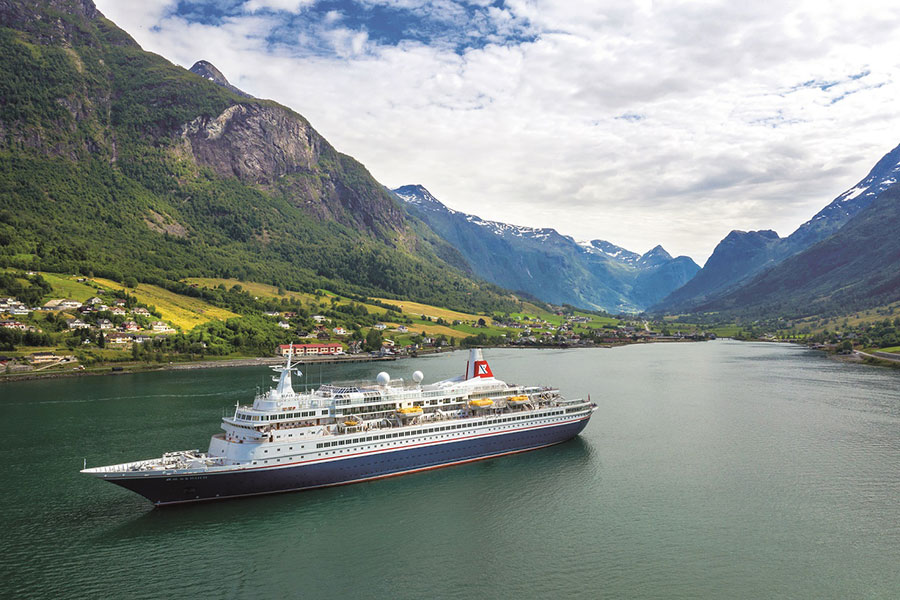 Earn up to £50 in shopping vouchers in Fred. Olsen Cruise Lines' 'Save up to £300 per person' February offer on selected 2020 ocean and river sailings