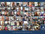 Fred. Olsen Cruise Lines staff share their working from home pictures in show of support for guests and trade