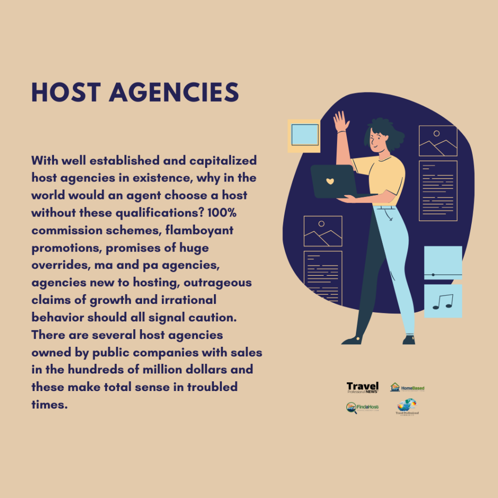 Travel Professional- Host agencies