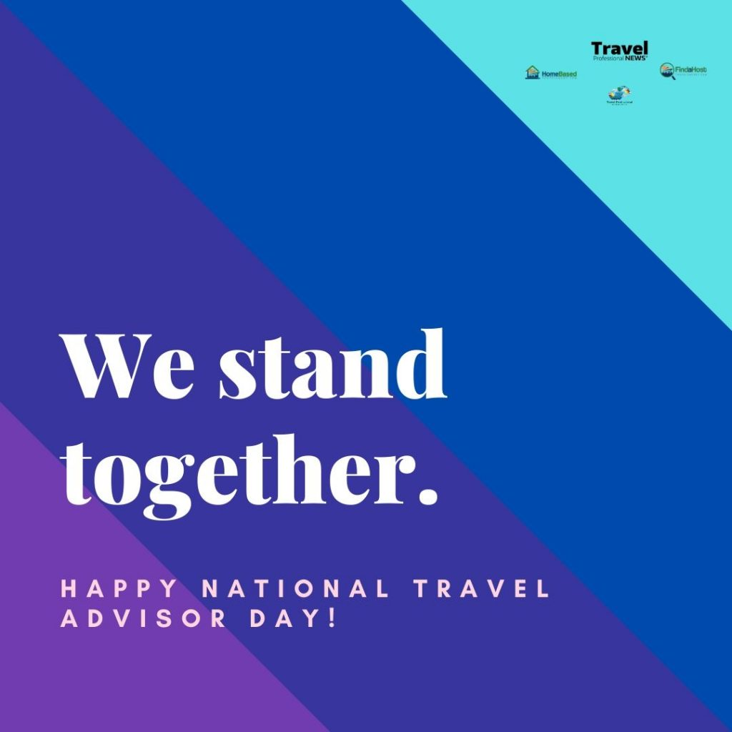 We stand together-Travel Advisor Day2020