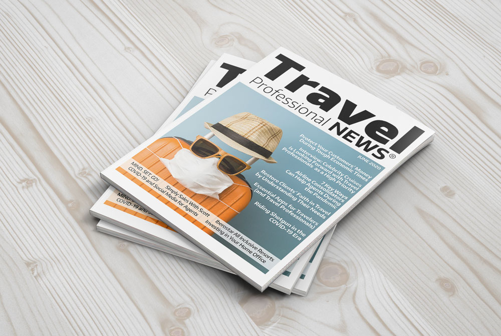 June 2020 Issue of Travel professional NEWS for Travel Agents