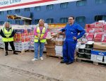 Fred. Olsen Cruise Lines Donates over £33,000 of Food from Ship Stores to those in need in Scotland