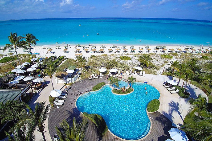 The Sands at Grace Bay and Hartling Properties on Turks and Caicos Reopening Today -- with Advanced Heartfelt Hartling Hospitality Protocols