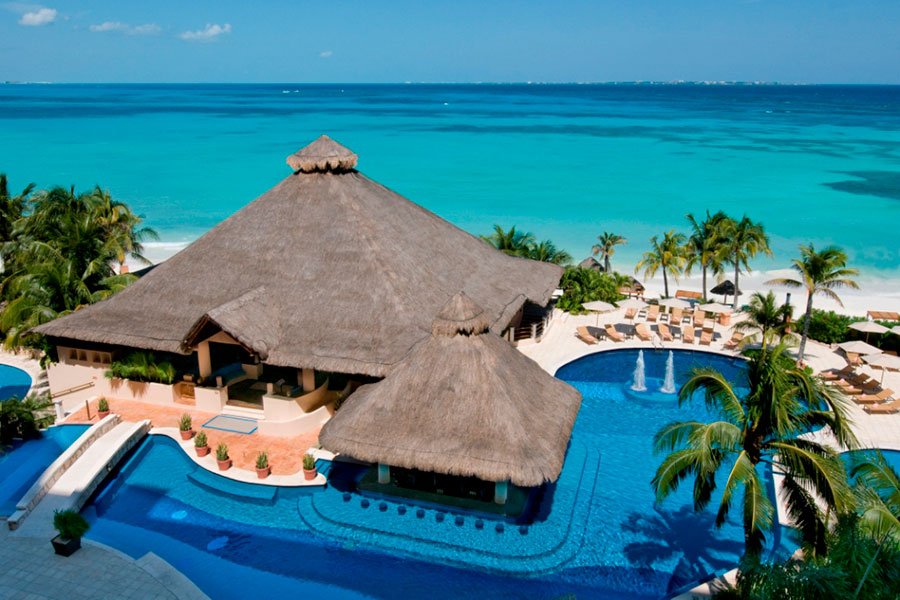 Grand Fiesta Americana Coral Beach Cancun All Inclusive Spa Resort and the Gem Spa receive prestigious Four Star Award from Forbes Travel Guide