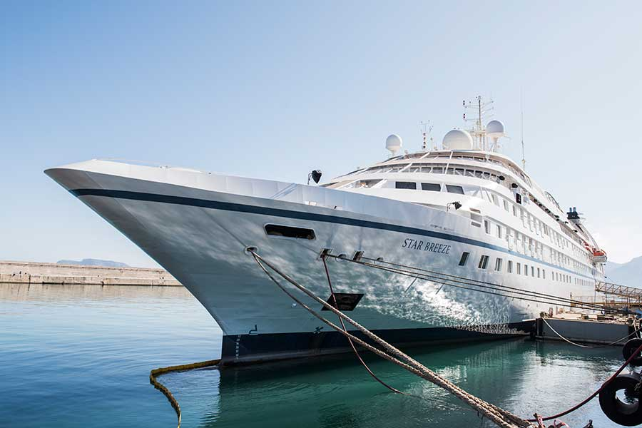 Windstar Cruises Unveils Transformed Star Breeze – First of Three Star Plus Class Yachts