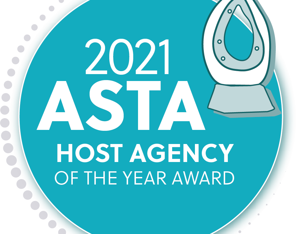 OASIS TRAVEL NETWORK NAMED ASTA'S HOST AGENCY OF THE YEAR FOR SECOND YEAR IN A ROW