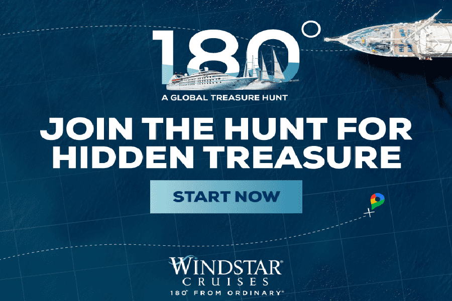 Windstar Reveals The Clues to a Massive Cruise Treasure, There is a Treasure Within a Treasure