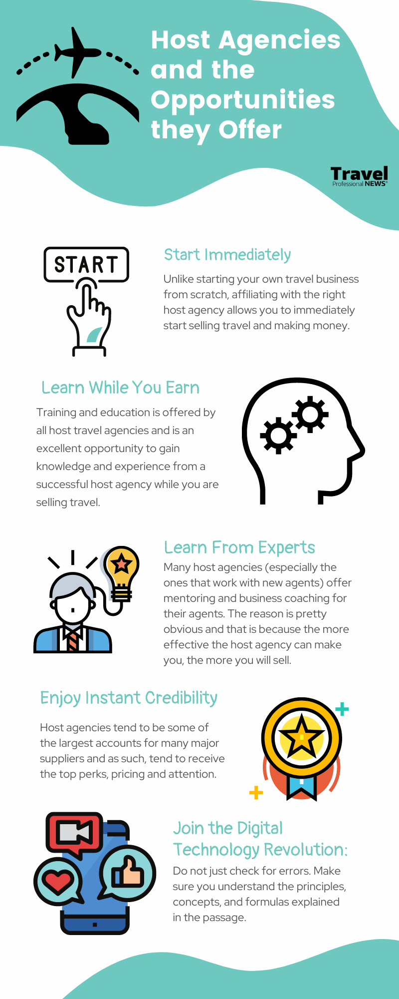 Host Travel Agencies and Opportunities They Offer